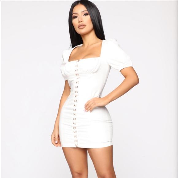 Fashion Nova Dresses & Skirts - Fashion Nova white dress